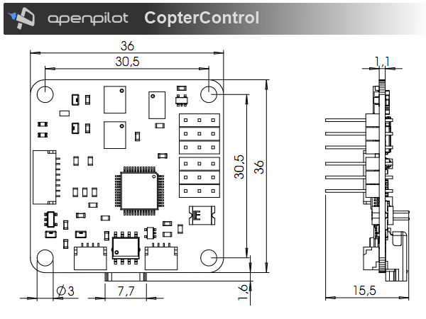 Coptercontrol Cc3d Atom Hardware Setup Librepilot