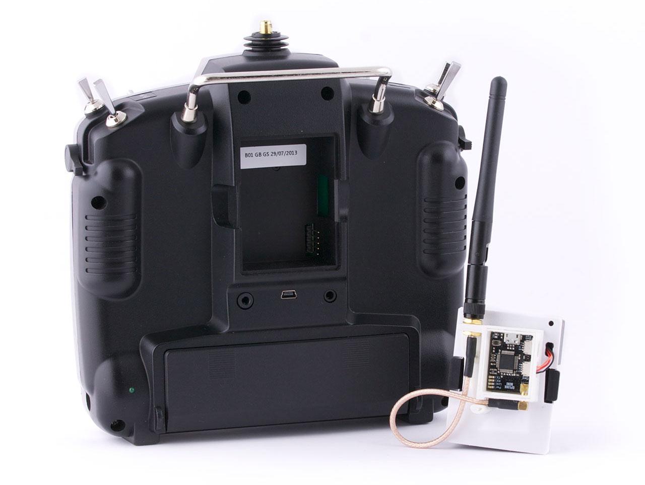 Oplm Vehicle Control Link Librepilot Openpilot Wiki 014 Cc3d Atom Wiring Diagram Mounting The Oplink Module To Transmitter